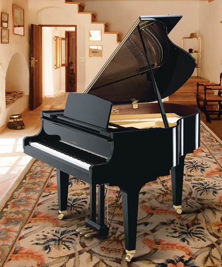 Kawai gm 11 baby grand piano for Size baby grand piano